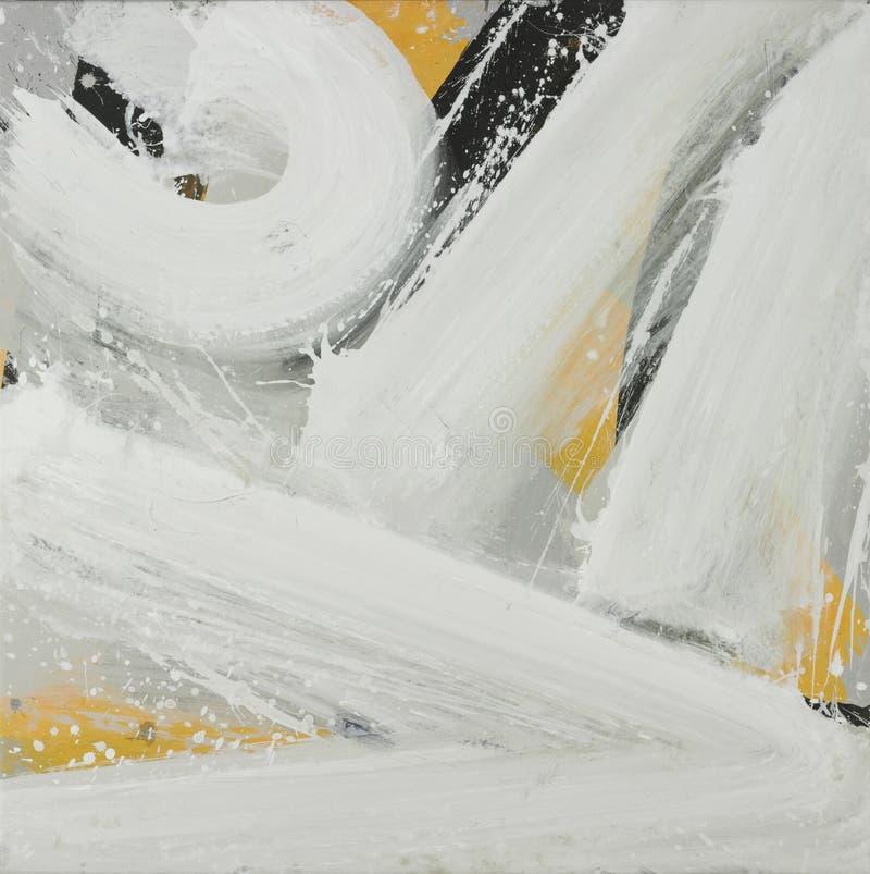 Peinture blanche photos stock