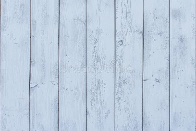 Peinture bleue peinte par planches verticales photo libre de droits