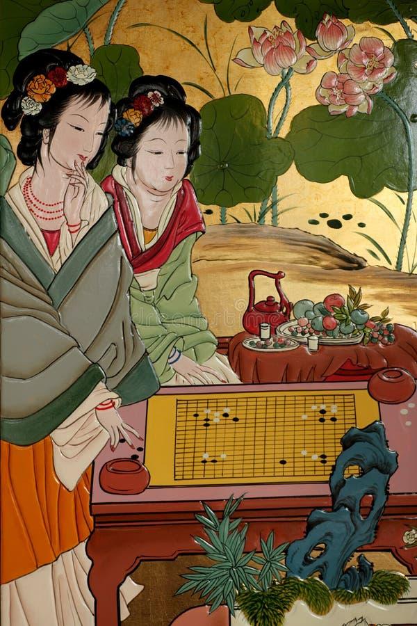 Peinture chinoise illustration libre de droits