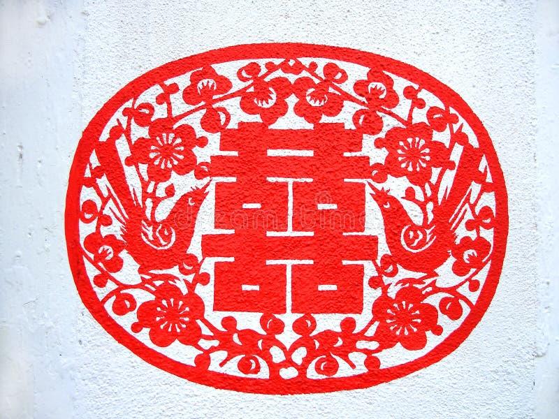 Peinture chinoise de mur images stock