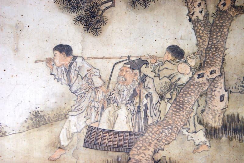 Peinture classique chinoise illustration stock