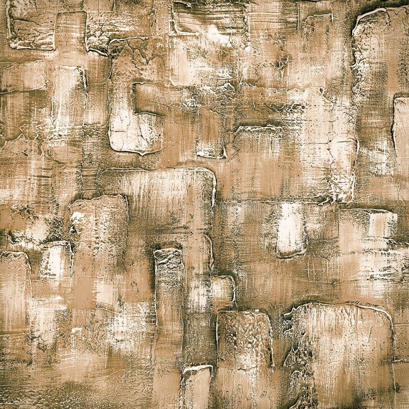 Peinture colorée abstraite sur une surface en bois. photos stock