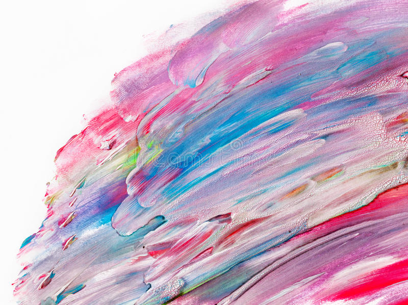 Peinture colorée d'aquarelle sur la toile Haute résolution et fond superbes de qualité illustration libre de droits