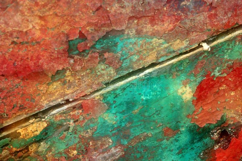 Peinture d'écaillement photos stock