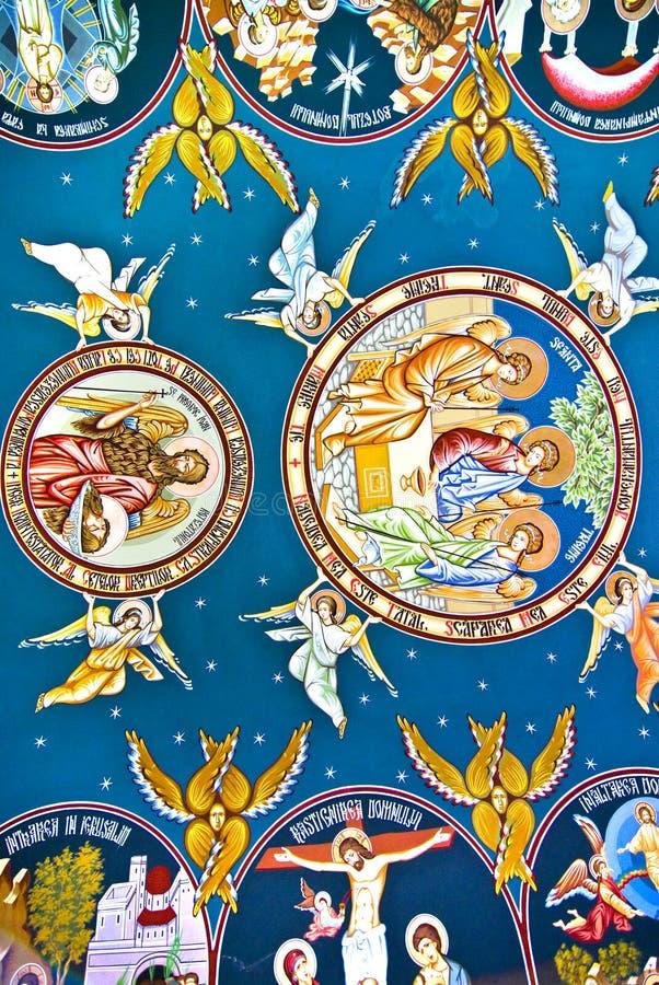 Peinture d'église image libre de droits