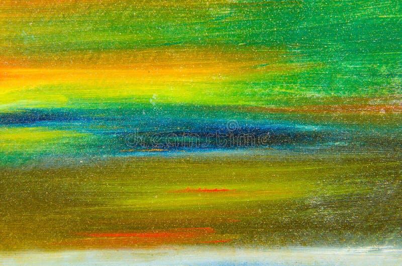 peinture d'aquarelle sur la toile images stock