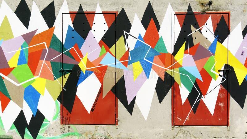 Peinture d'art de mur photo libre de droits