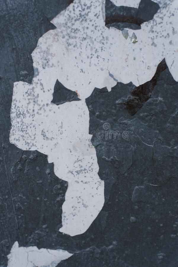 Peinture d'?pluchage sur la texture sans couture de mur photo libre de droits