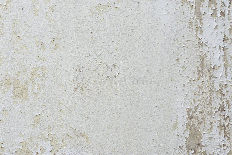 Peinture de écaillement sur un mur image stock