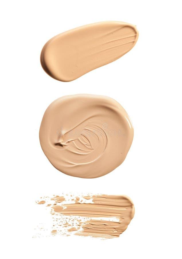 Peinture de calomnie des produits cosmétiques photographie stock libre de droits