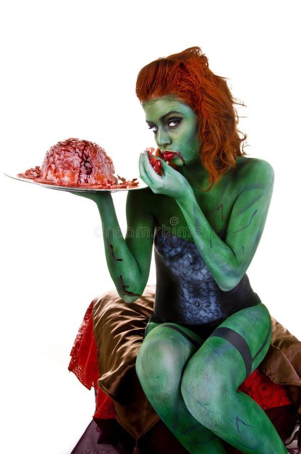 Peinture de carrosserie de zombi image libre de droits