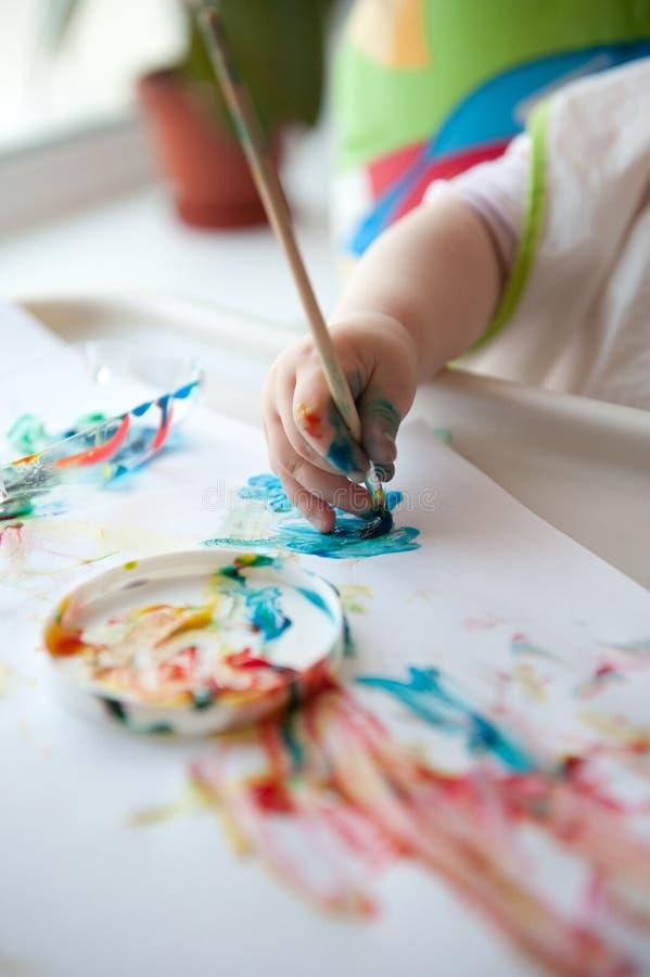 Peinture de chéri photo stock