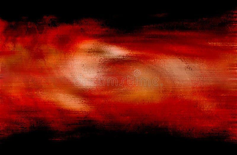 Peinture de Digitals illustration de vecteur
