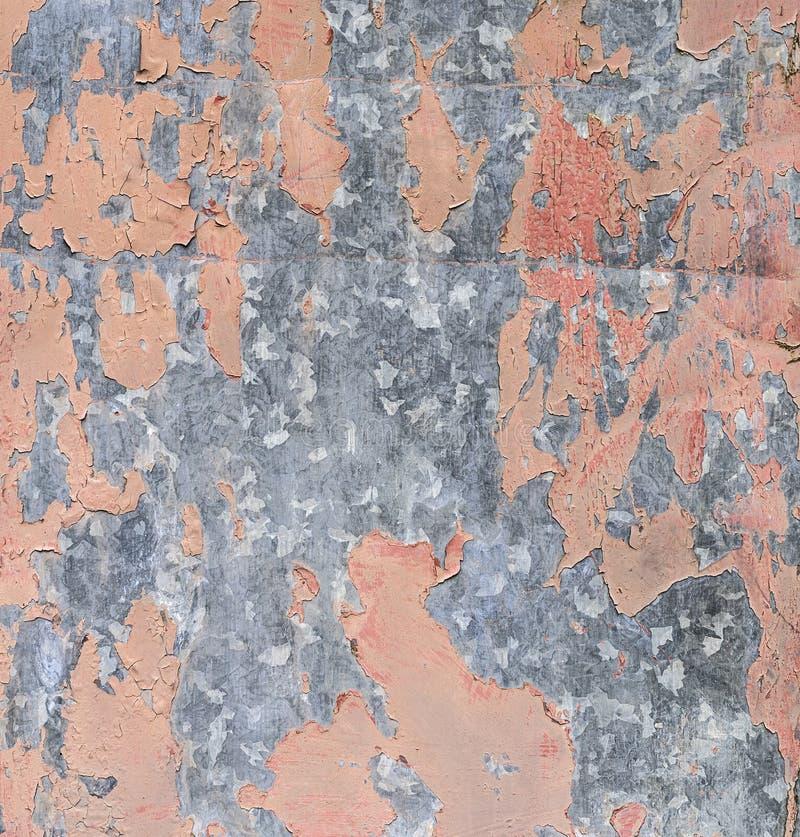 Peinture de disparaition sur une surface métallique image libre de droits