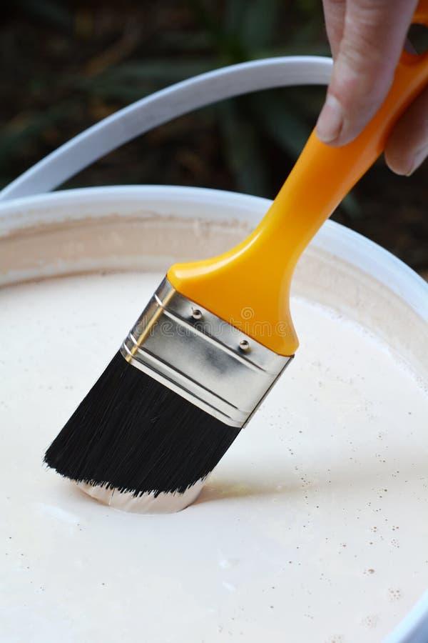 Peinture de DIY photographie stock