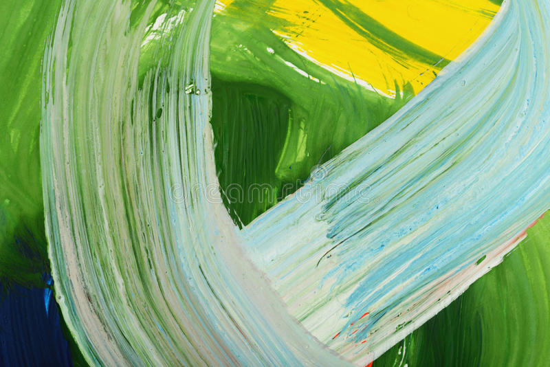 Peinture de gouache d'art abstrait illustration de vecteur