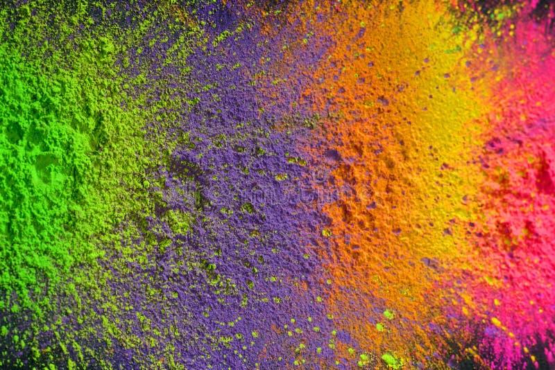 Peinture de Holi images libres de droits