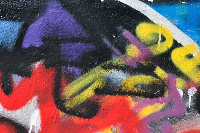 Peinture de jet tachée photographie stock