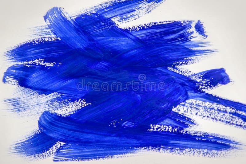 Peinture de texture sur le fond blanc photo stock