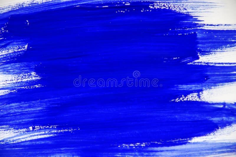 Peinture de texture sur le fond blanc Foyer sélectif photo stock