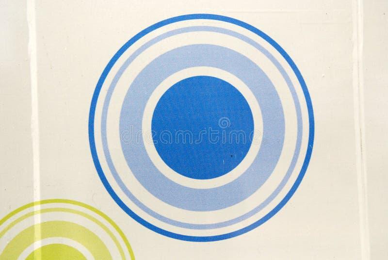 Peinture des cercles illustration stock illustration du retrait 2546046 - Droit locataire peinture murs ...