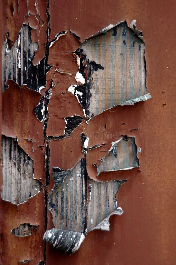 Peinture enlevée photo stock