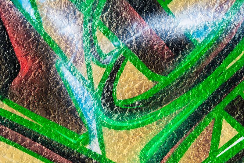 Peinture géométrique de modèle images stock