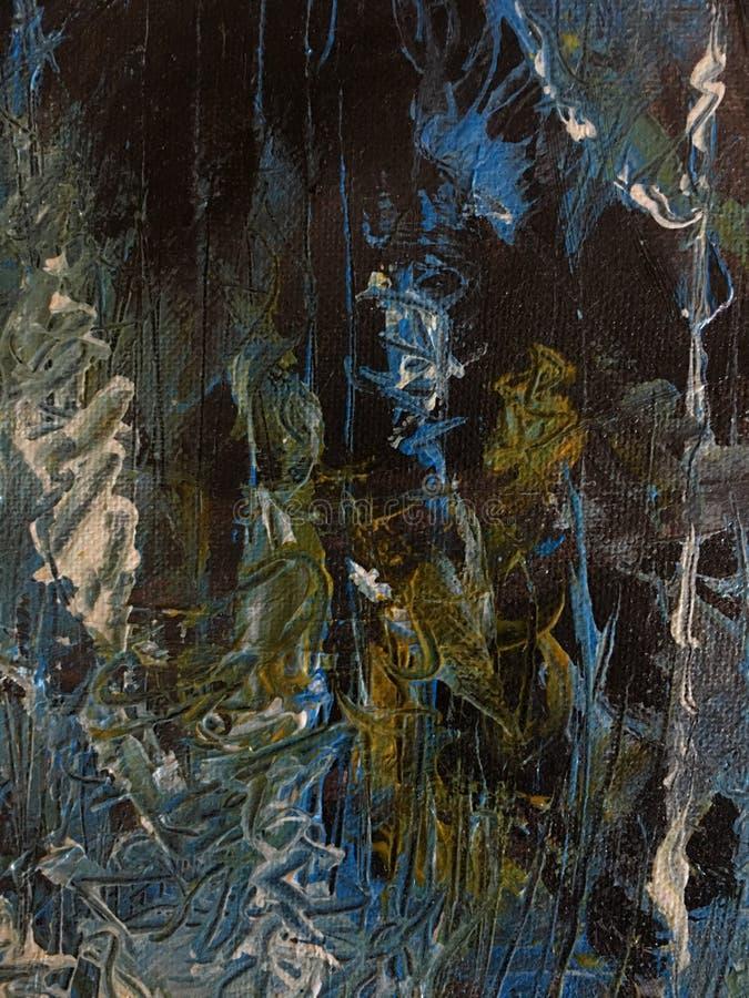 Peinture grunge abstraite image libre de droits