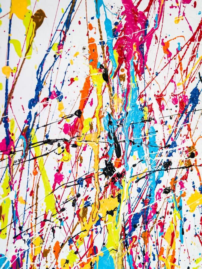Peinture humide image stock