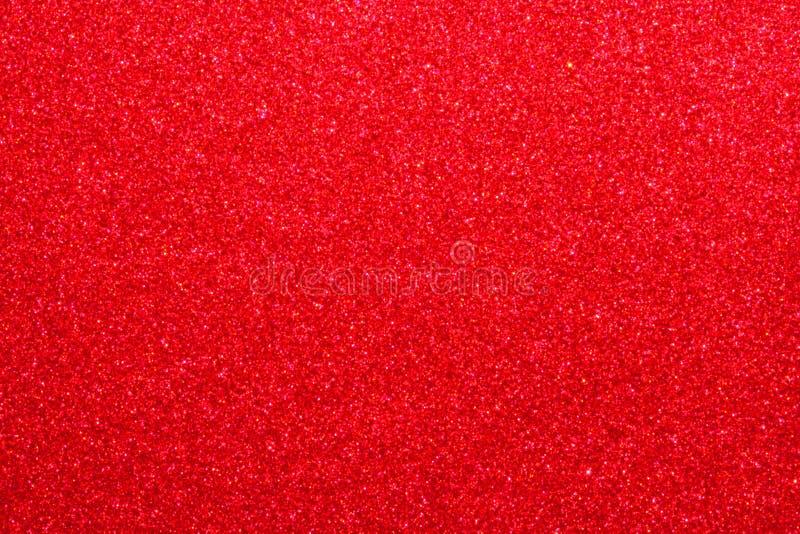 Peinture métallique rouge images stock