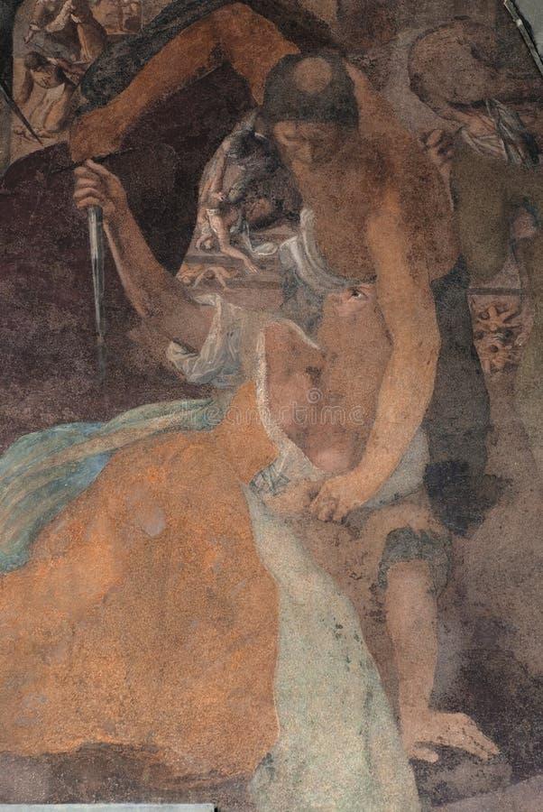 Peinture murale image stock