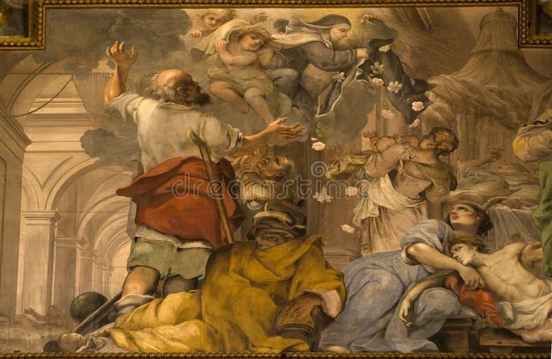 Peinture murale, Florence photographie stock libre de droits