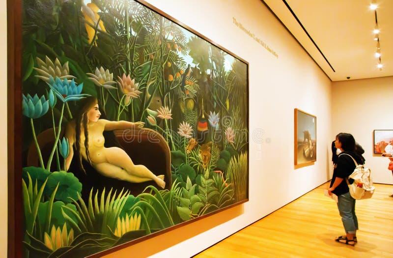 Peinture Par Rousseau Dans MoMA De New York Photo éditorial ...