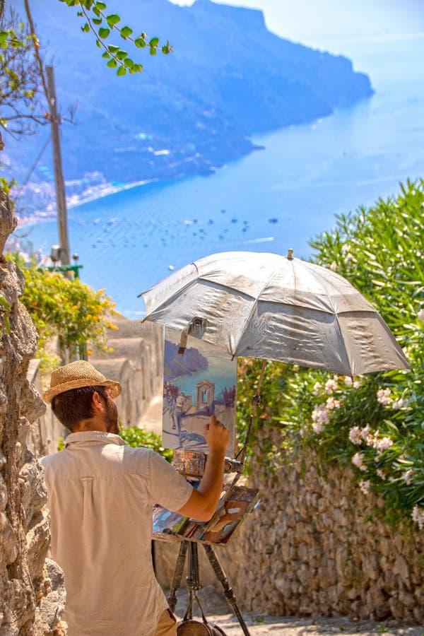 Peinture Ravello photo stock