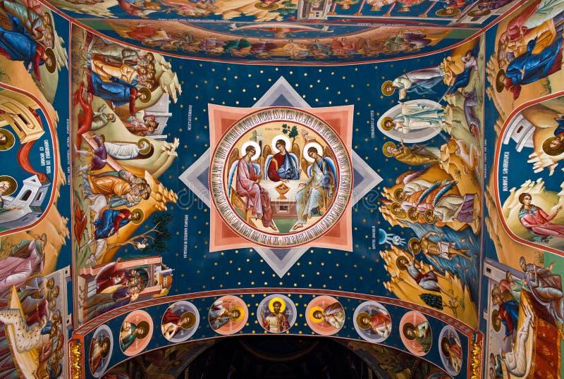Peinture religieuse XIII photographie stock