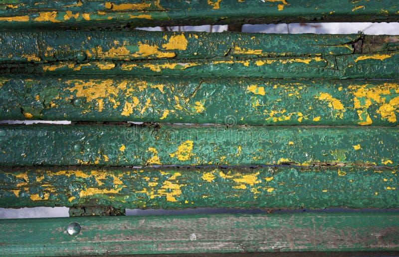 Peinture Shriveled sur le bois photographie stock libre de droits