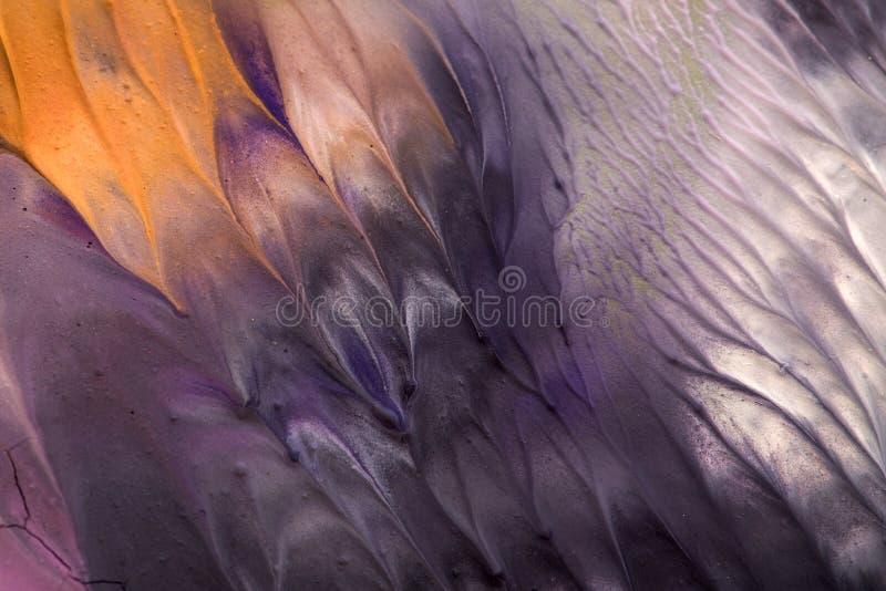 Peinture tirée par la main de gouache Fond d'art abstrait Texture de couleur illustration de vecteur