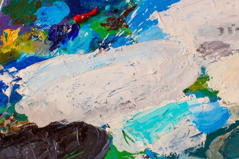 Peintures à l'huile photo libre de droits