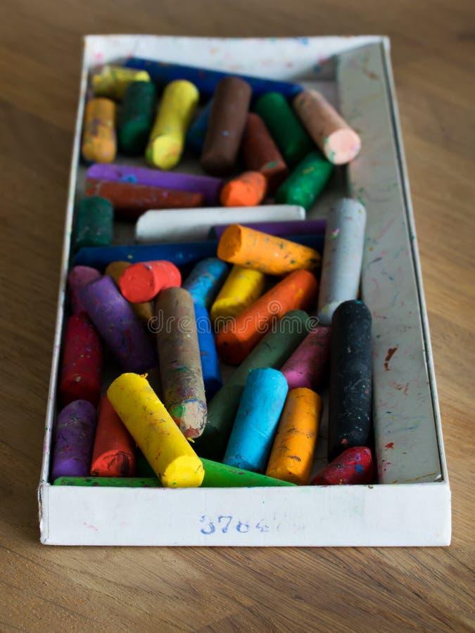 Peintures colorées images stock