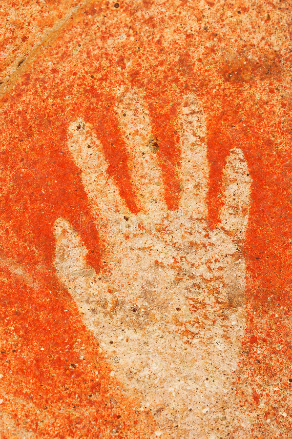 Peintures de caverne image libre de droits