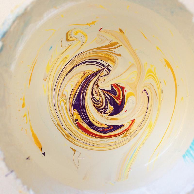 Peintures de mélange photos libres de droits