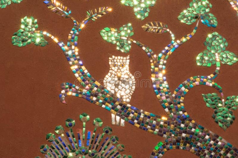 Peintures murales de lanière de xieng de wat photographie stock libre de droits