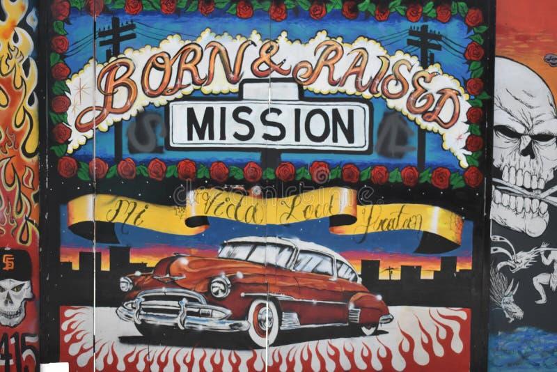 Peintures murales très créatives très belles d'allée de clairon, 32 photographie stock libre de droits