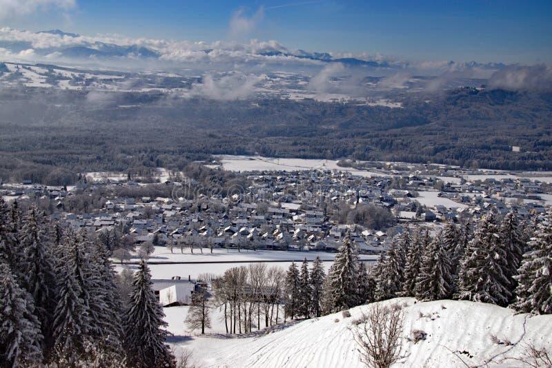 Peissenberg, Βαυαρία, Γερμανία στοκ φωτογραφία