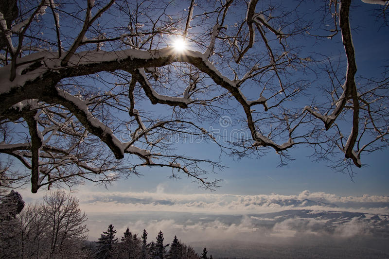 Peissenberg, Βαυαρία, Γερμανία στοκ φωτογραφία με δικαίωμα ελεύθερης χρήσης