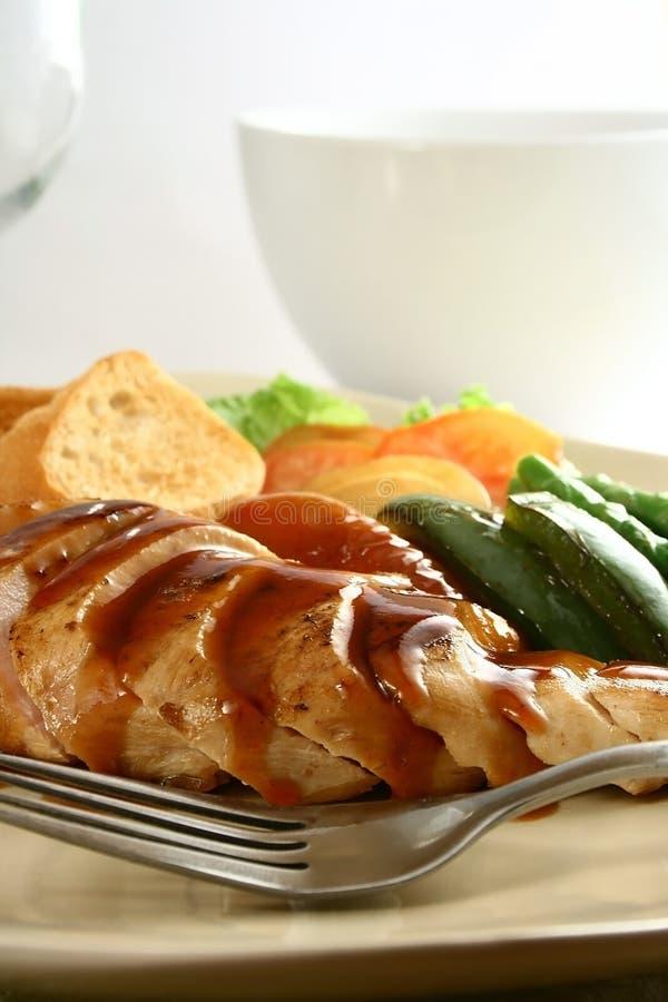 Peito de frango fotografia de stock