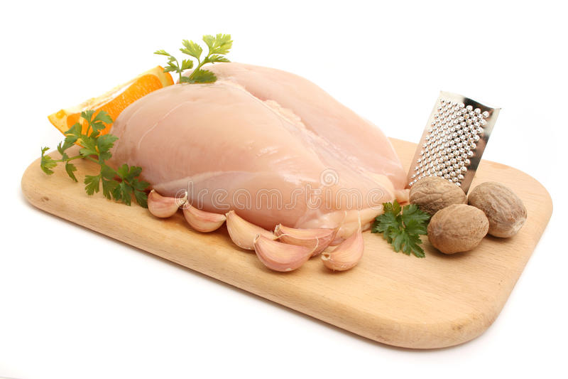 Peito de galinha imagem de stock royalty free