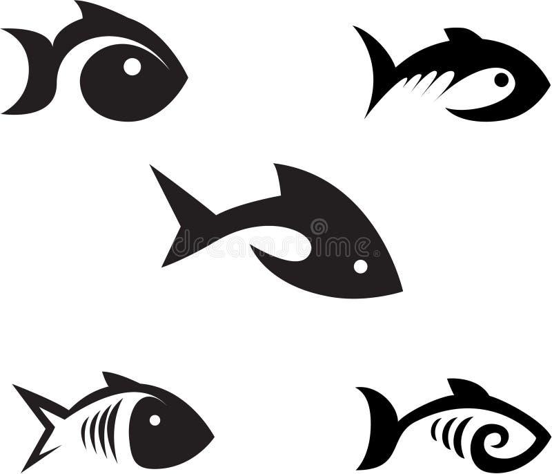 Peixes. ilustração do vetor