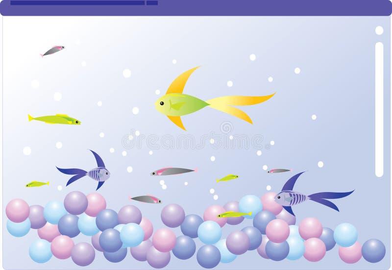Peixes ilustração do vetor