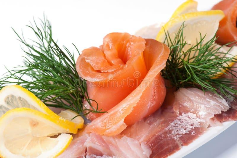 Peixes allsorts de sal fotografia de stock